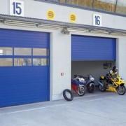 Porte sectionnelle industrielle pour locaux non chauffés - STE 40