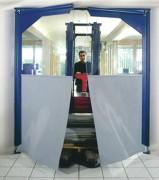Porte souple à vantaux - Porte silencieuse et économique - Facile d'entretien