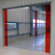 Porte souple PVC industrielle - Largeur de lanières : 200 , 300 , 400 mm