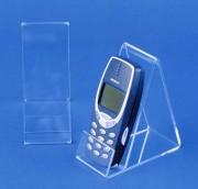 Porte téléphone portable plexi