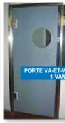 Porte va et vient en polyéthylène - Vantail va et vient en polyéthylène haute densité (PE HD 500) et de qualité