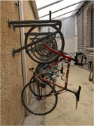 Porte vélo mural - Pour 2 vélos