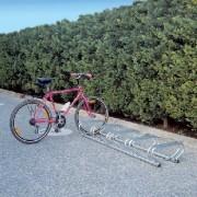 Porte vélos classique - Dimensions (L x P x H) cm : 180 x 55 x 25