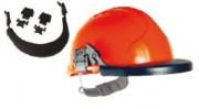 Porte-visière pour casque de chantier