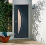 Portes d'entrée - Extérieur en aluminium thermolaqué