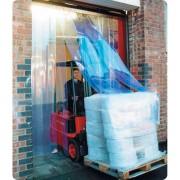 Portes et rideaux en pvc souple - Largeur de lanières : 200, 300, 400 mm