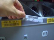 Portes étiquettes autocollant et magnétique