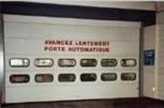 Portes sectionnelles - Automatisées avec armoire pour télécommande
