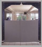 Portes souples battantes - Porte industrielle en PVC souple