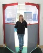 Portes souples battantes industrielles - Epaisseurs : 5 - 6 - 7 mm