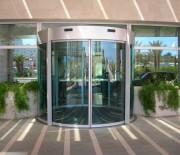 Portes vitrées coulissantes automatisées - Rondes et Cintrées