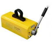 Porteur magnétique pour manutention pièces plates et cylindriques - Force d'aimantation : 1 tonne/coefficient de sécurité 3,5