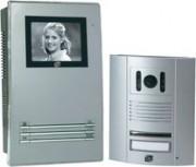 Portier video n/b 2 fils extel - 077582-62