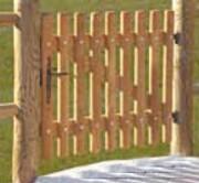 Portillon Bois - Dimensions (Ht x L) : 1 m  x 1 m ou 1m20  x 1 m