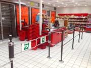 Portillon de signalisation - Différentes solutions de guidage dans une surface de vente