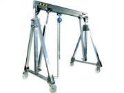 Portique aluminium pliable - Vitesse de levage maximum : 8 m/min