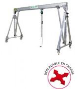 Portique atelier déplacable - Capacité de charge : 50 à 5000 kg