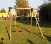 Portique balançoire pour enfants