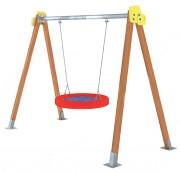 Portique balançoire pour enfants handicapés - Tranche d'âge : De 1 à 15 ans