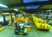 Portique d'atelier - Structure mécano soudée - Capacité : de 250 à 5000 Kg