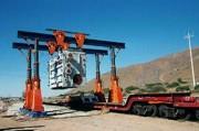 Portique de levage à mât télescopique - Capacité de charge : jusqu'à 800 tonnes