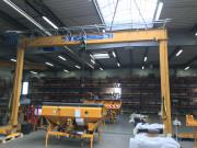 Portique de levage à poutre métallique - Largeur (m) : plus de 30