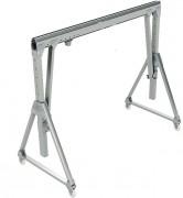 Portique de levage d'atelier - Capacité : de 125 kg à 2000 Kg - En profilés d'aluminium