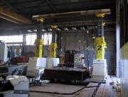 Portique hydraulique à mâts télescopiques - Capacité : 800 Tonnes - Hauteur variable de 10 m