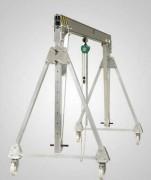 Portique mobile en aluminium - Capacité de charge : 250 kg à 2.000 kg.