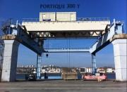 Portique portuaire