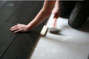 Pose de parquets en bois - Pose aisée