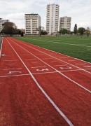 Pose de piste athlétisme