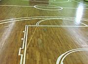 Pose et rénovation revêtement de sol sportif