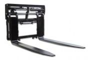 Positionneur de fourche avec adaptateur - Avec supports / guides de fourches