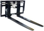 Positionneur de fourches accroché - Conception très robuste pour les applications les plus sévères