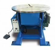 Positionneur de soudage 500 kg - Tête orientable et vitesse de rotation de plateau ajustable