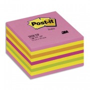 POST-IT Bloc cube 7,6 x 7,6 cm 450 feuilles coloris rose - Post-it®