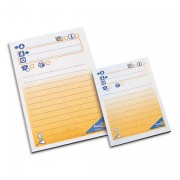 POST-IT Bloc repositionnable de 50 feuilles message téléphonique 102x74mm 7694F24570 - Post-it®