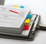 POST-IT Carte de 3 couleurs d'Index Strong 2,5 x 3,8 cm (rouge, jaune, bleu) 686-RYB - Post-it®
