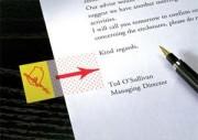 POST-IT Carte de 50 marque page index 2,5 cm motif point signature - Post-it®