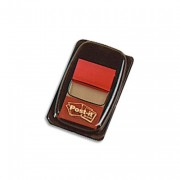 POST-IT Carte de 50 marque page index 2,5 cm rouge 680-1 - Post-it®