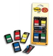 POST-IT Lot de 4 index standard coloris assortis standard et 2 index fleche 58955 - post-it index