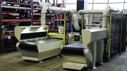 Poste d'ébavurage et retourneur - Optimisation du poste de meulage - Pour grandes pièces