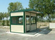 Poste de garde modulaire - Poste de contrôle, Guérite pour gardien, Guichet pour billetterie, ...