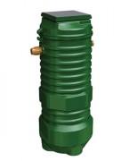 Poste de relevage mono pompe eaux usée et vanne - Capacité (L) : de 1450 à 2200