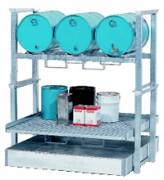 Poste de soutirage et de stockage pour 3 fûts de 60 L - Ref. TC-W.Z.2700