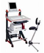 Poste de travail debout ou assis - Pour travailler en position debout ou assis