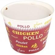 Pot cartonné poulet - Contenance : 130 oz