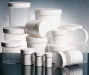 Pot plastique vissant - Contenance (ml / cc) : de 25 à 2000