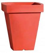 Pot polyéthylène carré - Hauteur (mm) : 966 - 1200 - 1400